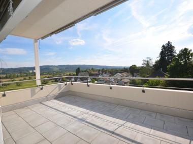 Neubau in Müllheim 4.5 Zimmer-Dachwohnung mit toller Fernsicht