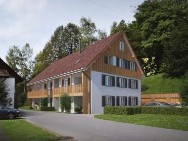 Neubau in Zell - 4.5 Zimmer-Maisonettewohnung an idyllischer Lage