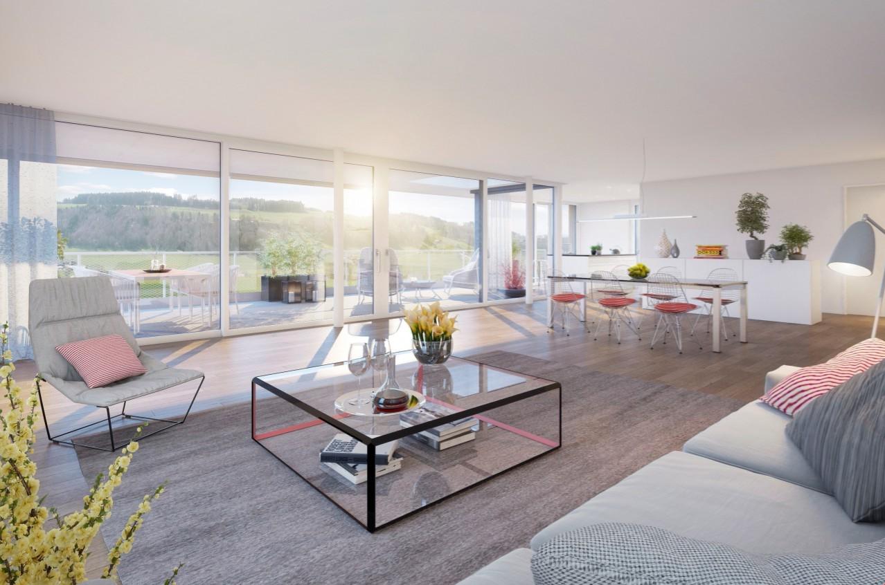 OBERFELD VECHIGEN – Hier kommt man gerne nach Hause - Nuova costruzione