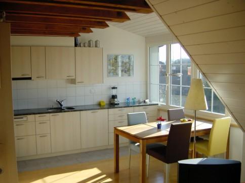Originelle 3,5-Zimmer-Dachwohnung in der Elfenau in Bern