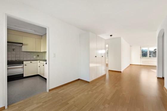 Küche, Essen, Wohnzimmer