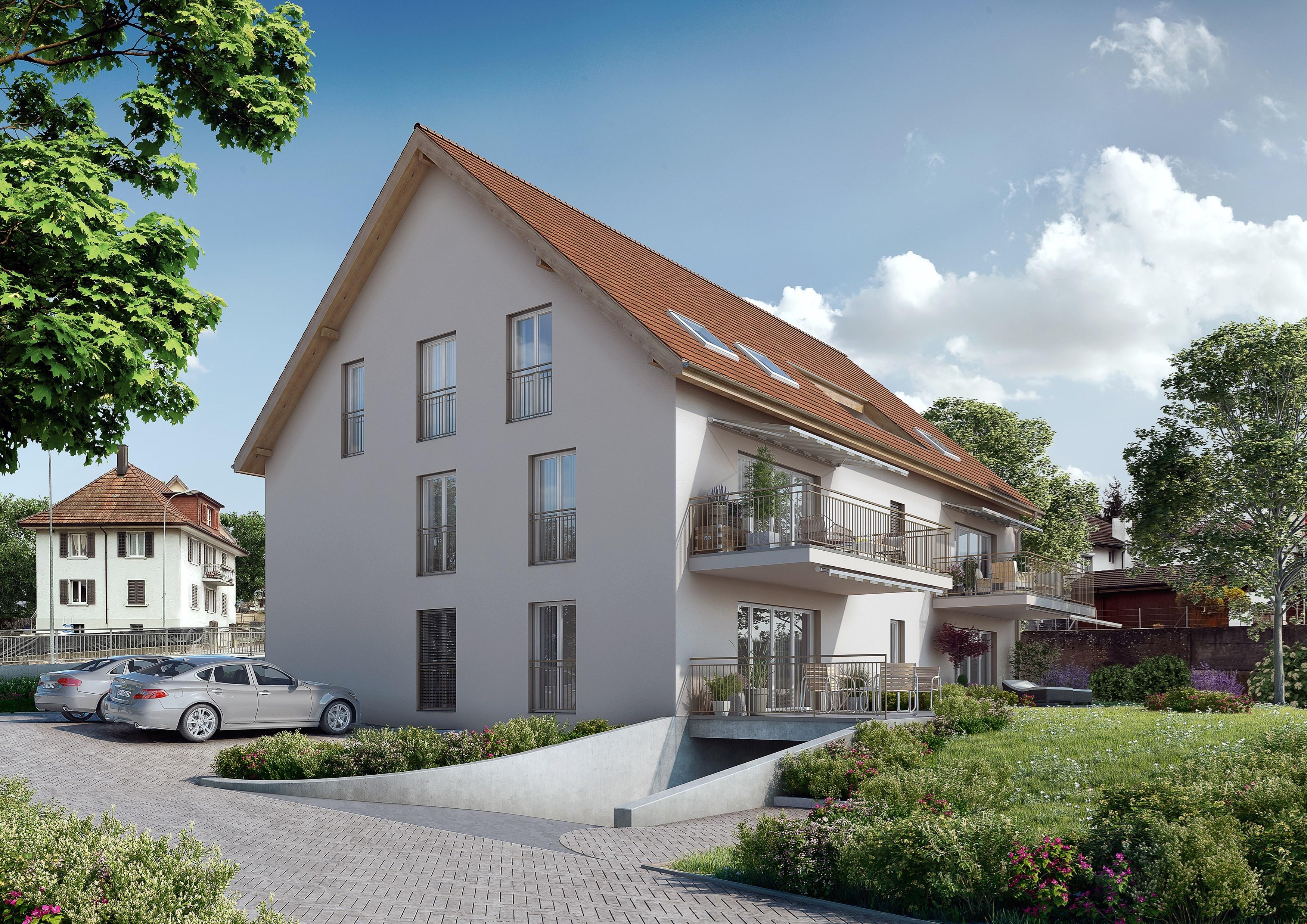 zu verkaufen 3 zi wohnung in gretzenbach nabhome ch. Black Bedroom Furniture Sets. Home Design Ideas