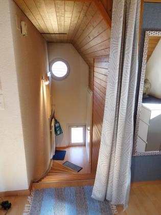 Hübsche Wohnung im Dachgeschoss