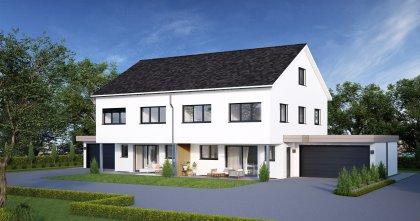 Doppeleinfamilienhaus Berg TG