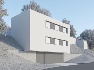 Lopagno 4.5 loc, ampie vetrate, trasparenza tra terrazza ed esterno