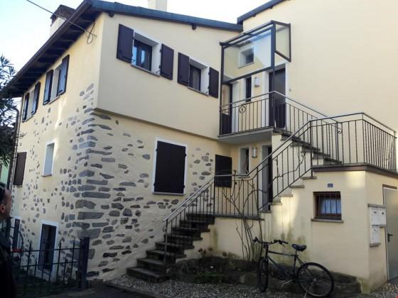 Entrata appartamento, secondo piano porta a sinistra