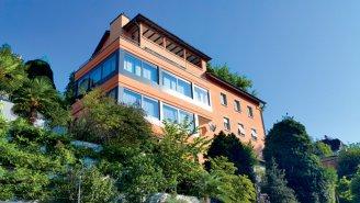 Südliches Ambiente am Rande der Luzerner Altstadt