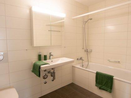 Badewanne mit WC