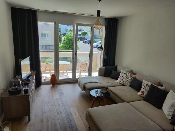 Wohnbereich mit Balkon (Osten)
