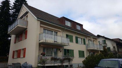Fassade balkonseitig