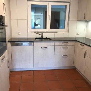 Küche Richtung Treppenhaus