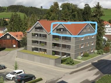 Neubau -Dachwohnung