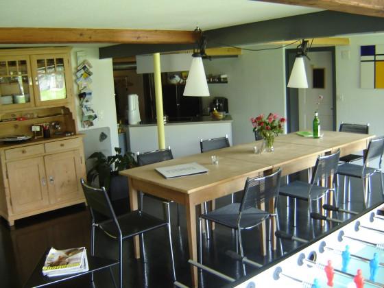 Wohnstube offen zu Küche