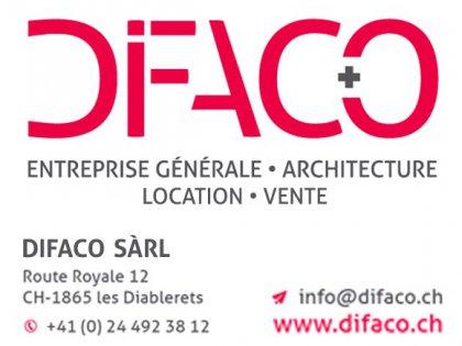 Logo Difaco Sàrl Diablerets