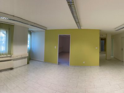 Eingang und Büro 5, siehe Grundriss + Video