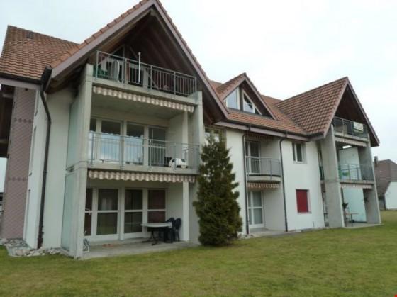 Ansicht Fassade mit Balkon