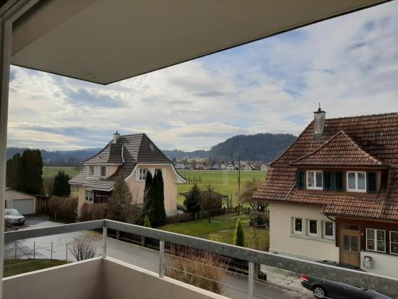 Aussicht aus Balkon