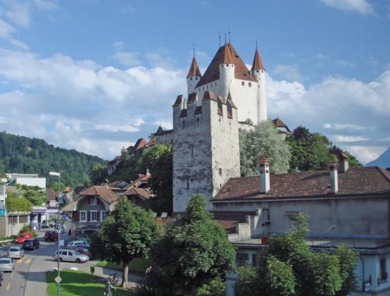 Aussicht Richtung Schloss