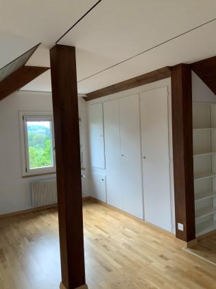 Zimmer 1 (Fenster mit Sicht auf Gurten)