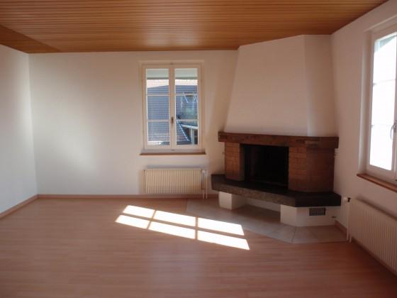 Wohnzimmer mit Cheminée (Nord)