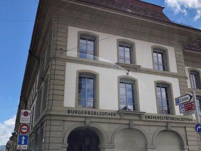 Burgerbibliothek Ansicht Seite Casinoplatz
