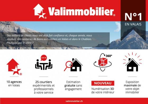 Valimmobilier - L'immobilier en Valais