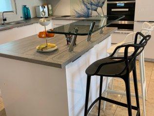 Kücheninsel mit Bar