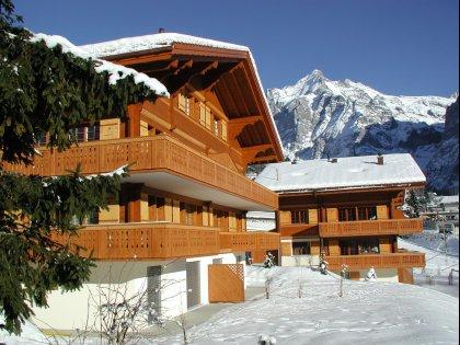 Ansicht Chalet Jungfrau Südwest