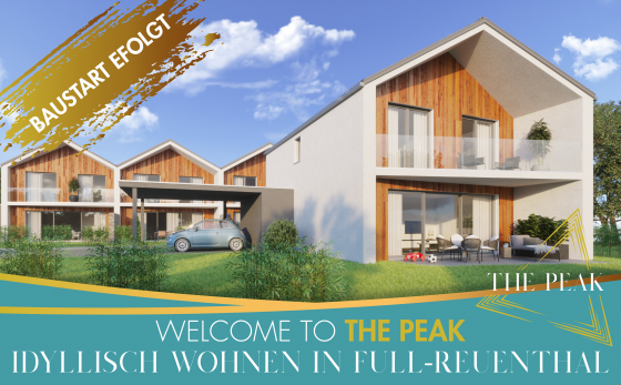 WELCOME TO THE PEAK | BAUSTART ERFOLGT!