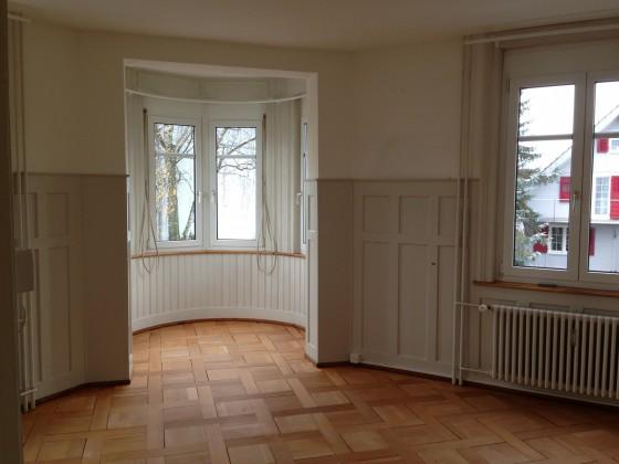 Wohnzimmer inkl. Erker