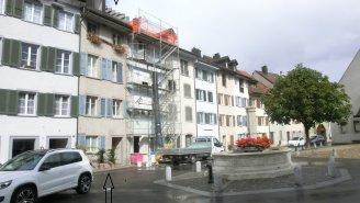 Der Haupteingang in der Altstadt